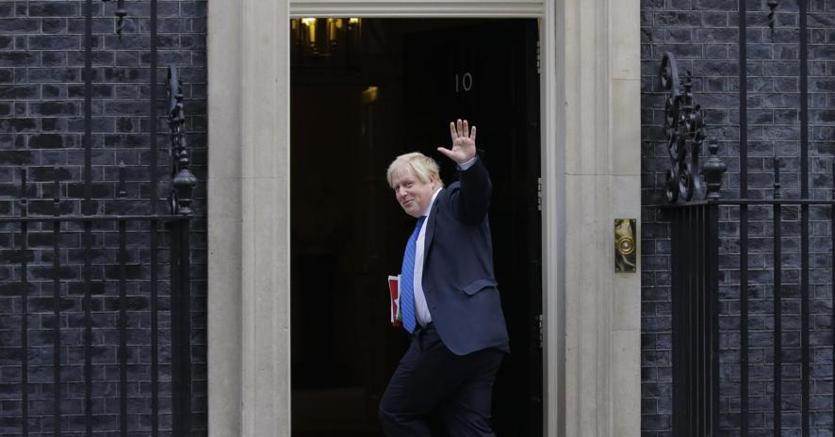 Il ministro degli Esteri  britannico Boris Johnson